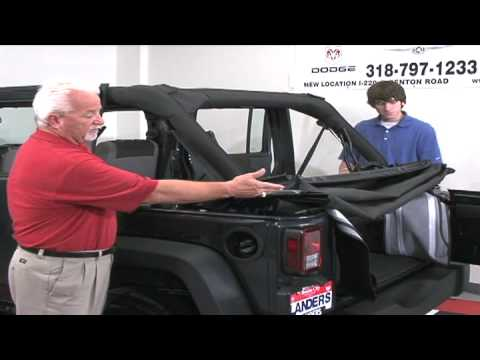 Jeep Wrangler Soft Top Instructional Video Youtube