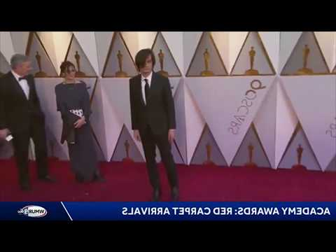 Jonny Greenwood Oscars 2018 Red Carpet Arrival