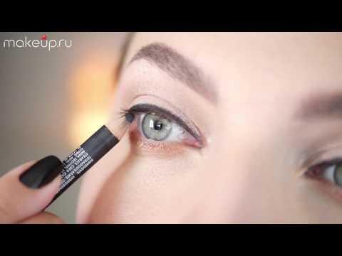 Как научиться рисовать стрелки на глазах карандашом для начинающих