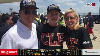 The Cleveland Cavaliers pay tribute to the late, great Fred McLeod