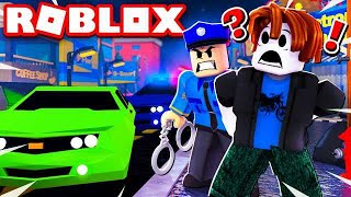I GOT ARRESTED IN ROBLOX FOR SPEEDING!!