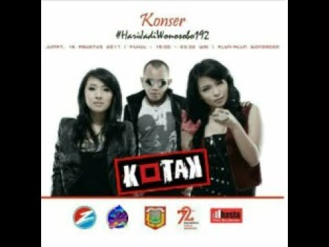 Hari Jadi Wonosobo 192, Live Alun2. musik cover, Kotak Band.