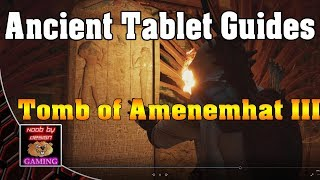 Video Assassin's Creed - Guide Tablettes: Le tombeau d'Amenemhat III download MP3, 3GP, MP4, WEBM, AVI, FLV Februari 2018