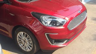 2018 Ford Aspire Facelift - Ruby Red Color !!