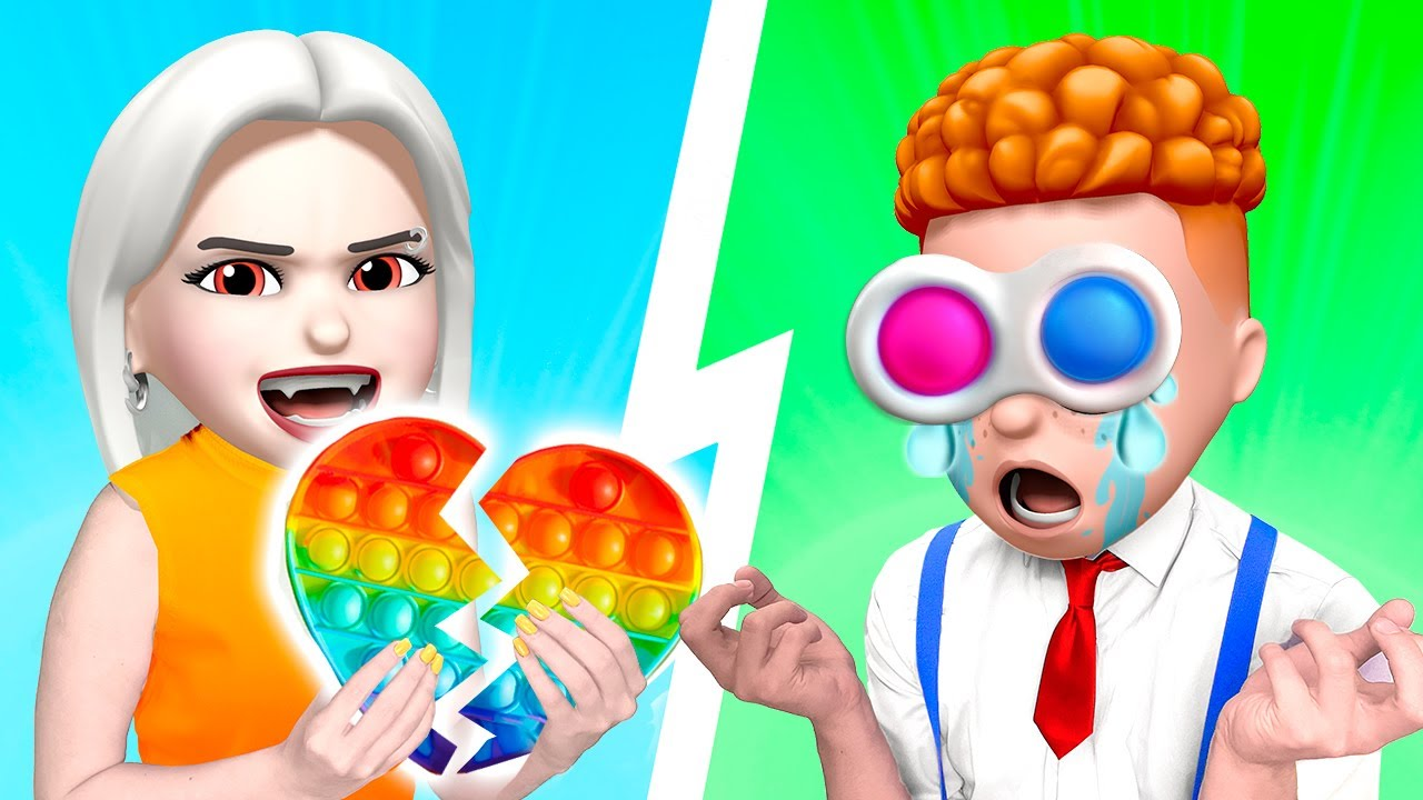 BOYS VS GIRLS - Crazy Boyfriend Struggles | Funny Relatable Situations at SCHOOL by La La Life Emoji