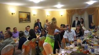 Восточная красавица Жасмин! На свадьбе Алии и Гумара Ведущая Ольга Сальникова