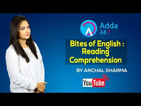 Bites of English : Reading Comprehension  - 1