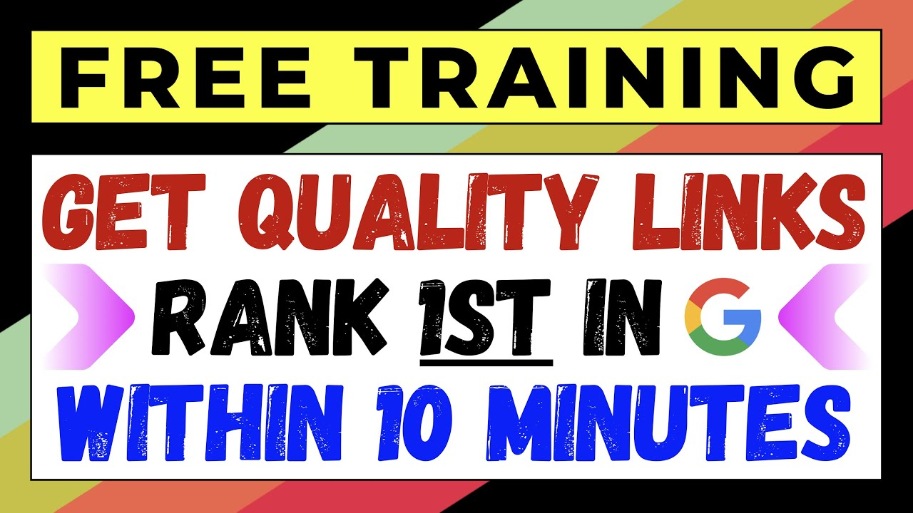 How to Get HIGH-Quality Backlinks to Your Website From High Authority Sites Without Getting SCAMMED