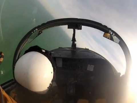 Flying Inside a Fighter Jet Cockpit! [HD]