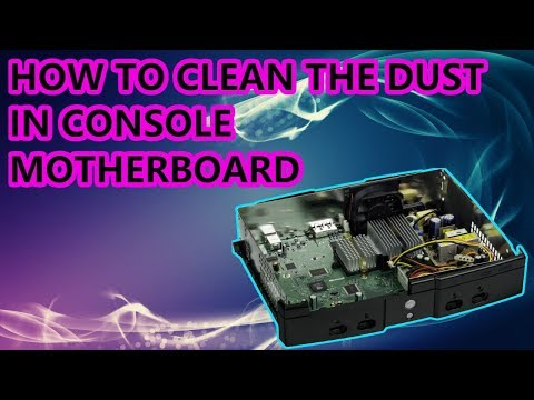 HOW TO CLEAN THE DUST IN ANY CONSOLE MOTHERBOARD [ XBOX 360 PS3 PS4 XBOX ONE NINTENDO WII ]