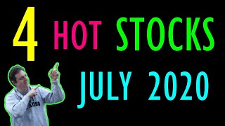 Top 4 stocks to buy in July 2020 (High Growth)| HOT stocks for July 2020