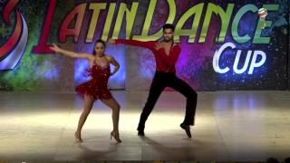 Vimal & Estefania, India & Mexico, Salsa On 2 Amateur Couple, Final 1st Place, WLDC 2016