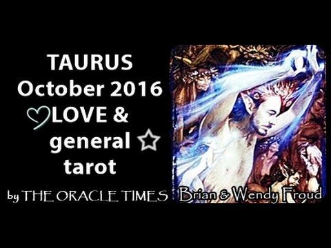 TAURUS OCTOBER 2016 FREE LOVE & general tarot & oracle-LOVE, Light&laughter!