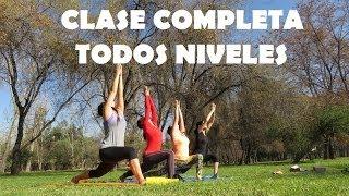 Vinyasa Flow Yoga  - todos niveles + relajación