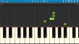 Drake - Energy - Piano Tutorial - Synthesia - If You're Reading This It's Too Late