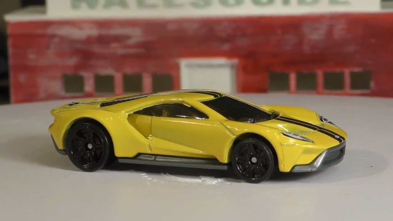 Hot Wheels N Case   Ford Gt