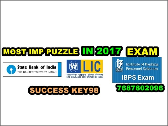 90% STUDENTS FAIL IN THIS PUZZLE VERY IMPORTANT PUZZLE FOR 2017 EXAM IN 2017