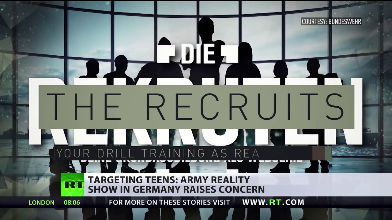 German 17yos aspire to join army after schools campaign & social media drive