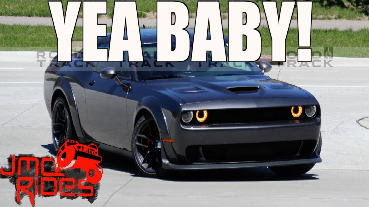 Just Ordered A Custom 2018 Widebody Hellcat Challenger Youtube