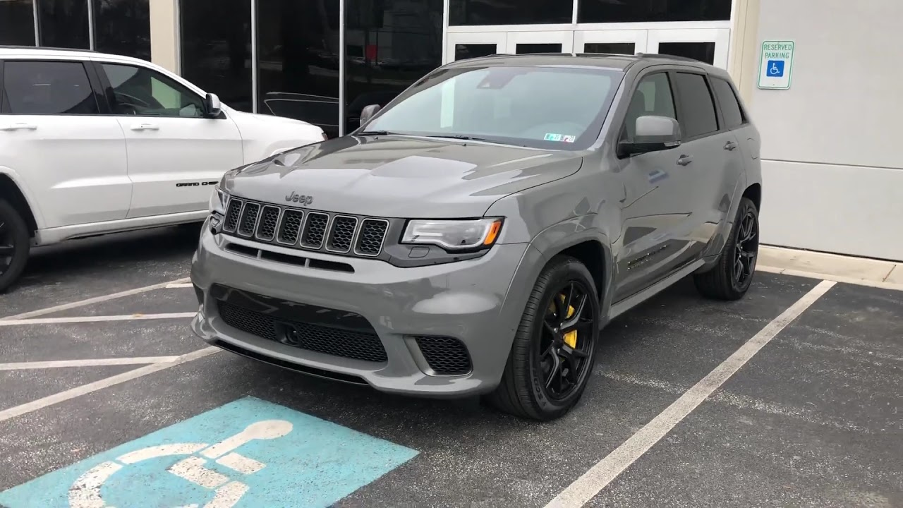 Pulled the trigger!!! 2019 Jeep Trackhawk - YouTube