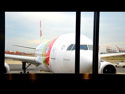 TAP PORTUGAL ECONOMY CLASS | A330-200 | NEW YORK-LISBON | FlyAround