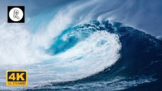 10 Hours of Huge Waves - Relaxing Sounds for Sleep, Ocean Sounds Ambiance for Relaxation & Spa