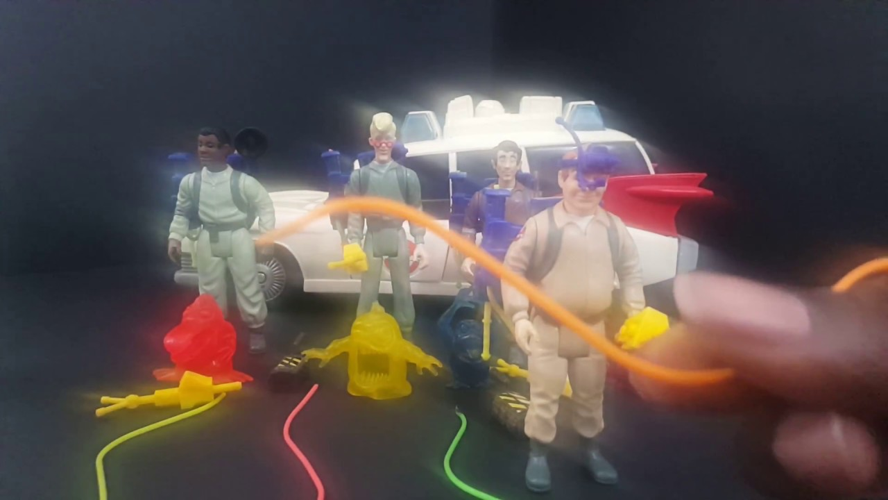 The Real Ghostbusters Vintage Toy Line Youtube