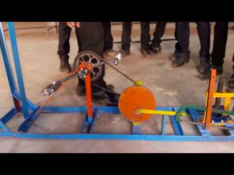 Pedal Operated Hacksaw Mechanical Engineering Project for Diploma and Degree