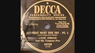 Saturday Night Fish Fry Louis Jordan