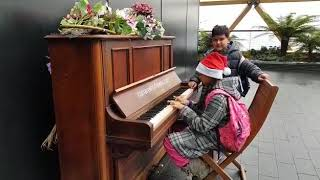 All Saints at Canary Wharf Piano piece