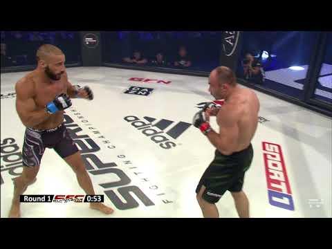 Bislan Etleshev vs. Giovanni Melillo - SuperiorFC18