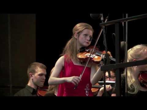 A.Dvorak: Violinkonzert in a moll; Liv Migdal und Sinfonietta live am Theatron