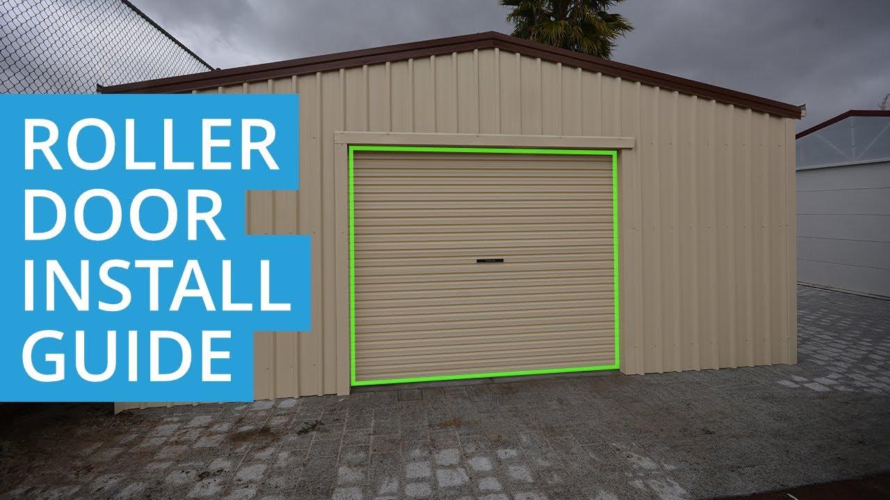 Garage Roller Door 🚪 Installation 🛠️ Guide Youtube