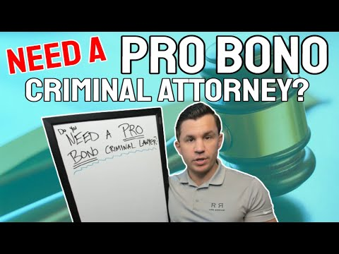 Looking For A Pro Bono Criminal Attorney? Here Are Your Options