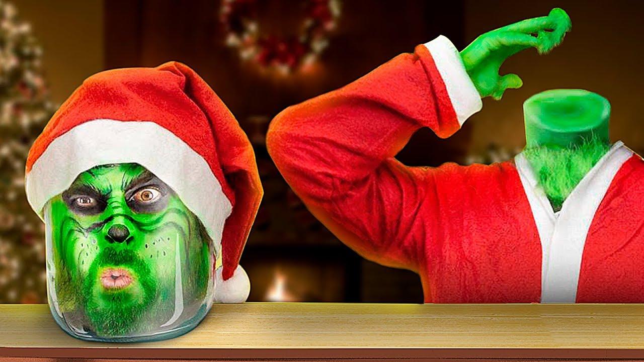 12 ลูกเล่นในวันคริสต์มาสและการแกล้งจากGrinch