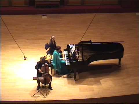 L.V.Beethoven - Cellosonate Nr. 4 C-Dur op. 102,1 (Shoshana Rudiakov & Dawid Grigorian)