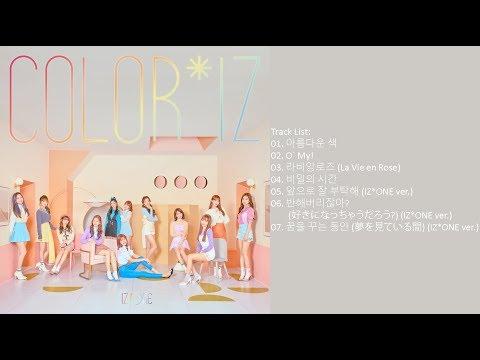 [Full Album] IZ*ONE – COLOR*IZ (Mini Album)