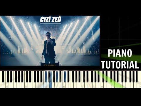 Kazma - Cizí zeď (One Man Show) - Piano Tutorial / Cover [by Patrik Leško]