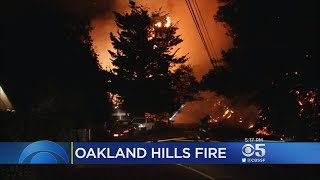 Crews Assessing Damage From Four-Alarm Oakland Hills Fire