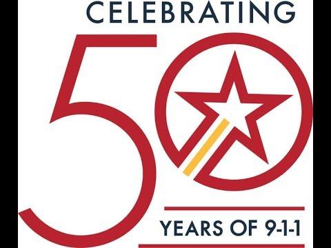 JUBILEE!!! 911 EMERGENCY USE 50TH ANNIVERSARY... FEBRUARY 16, 2018!!!!