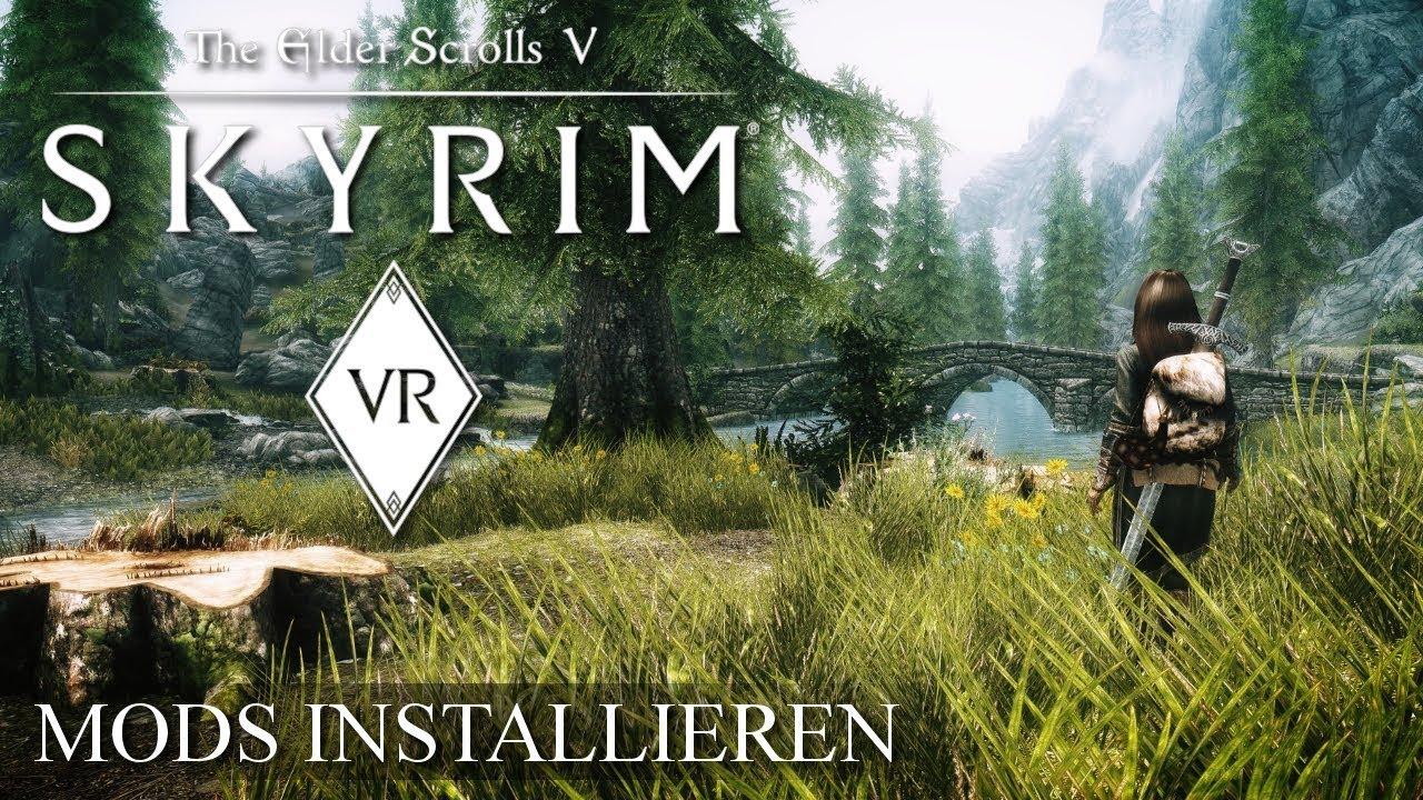 SKYRIM VR - Einfach Mods installieren - So Geht's! - Самые лучшие видео