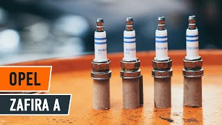 Reemplazar Bujías OPEL ZAFIRA: manual de taller