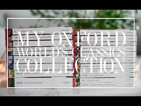 My Oxford Worlds Classic Collection | The Book Castle