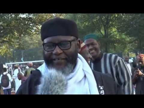 Africa Muslims in Hamburg   Germany celebrated Eid Adha 2014