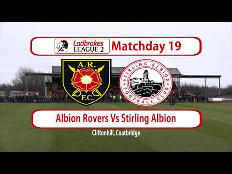 Albion Rovers Stirling Goals And Highlights