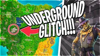 HOW TO GET UNDER TILTED TOWERS IN THE NEWEST FORTNITE UPDATE!!!!!