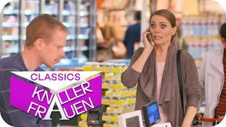 Panik in der Supermarkt-Schlange mit Martina