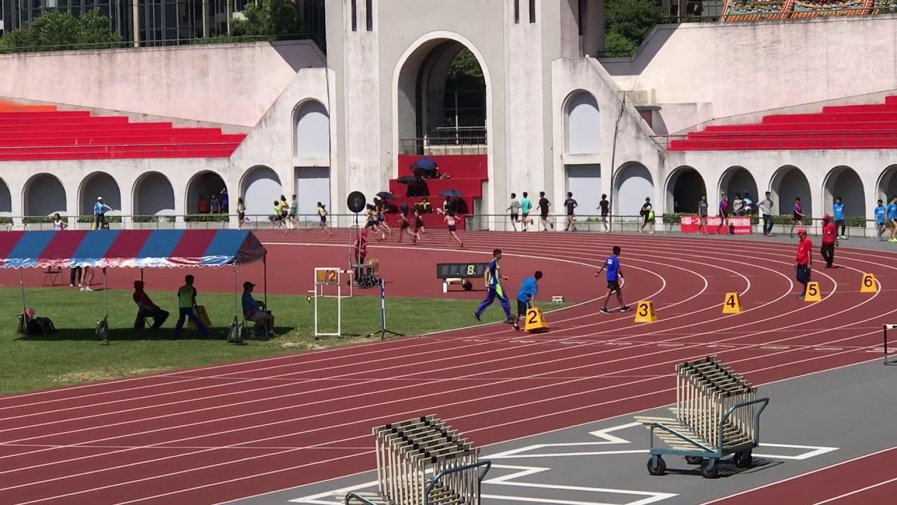 108年新北城市盃全國田徑公開賽(國女800公尺預賽) - YouTube