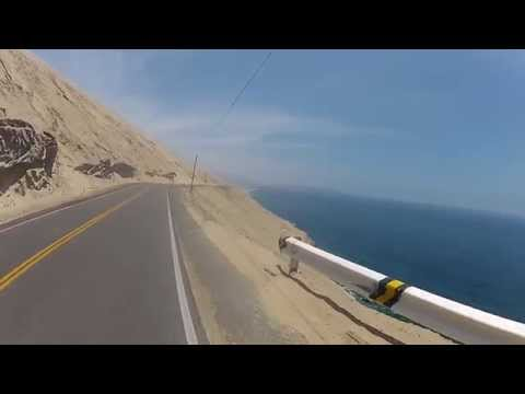 Cycling Peru. Spectacular views from cliffs. Fatih Aksoy
