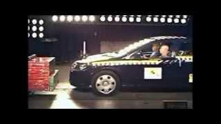 Crash test Opel Astra 2004